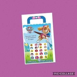 Paw patrol nail stickers / diy manicure / goodie bag gift