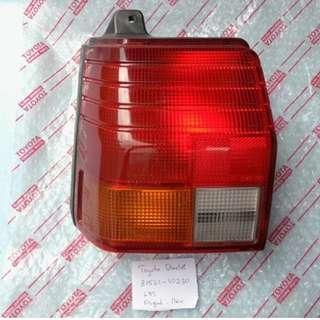 Toyota Starlet KP70 rear light