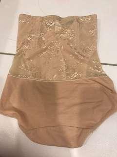 High waist body shaper slimming panties underwear Gerder lace tummy tight