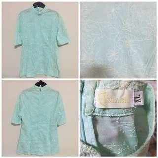 Wore 1x Only - Authentic Clothier Chinese blouse size XL  With back zip