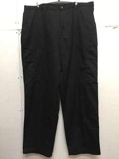 🚚 全新✨Burgerking ®️高磅數黑色男性大尺碼工作褲(黑色)#衣櫃大掃除