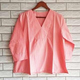 Peaches stripe top