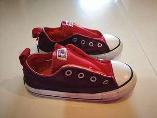 Converse Canvas Velcro Shoes