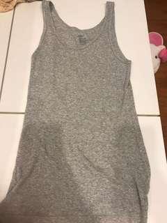 Preloved GAP gray TOP shirt singlet