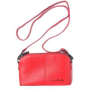 Personalised Calf Leather Handbag / Wristlet