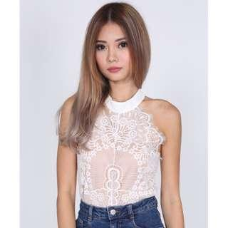MDS Wendi top in white
