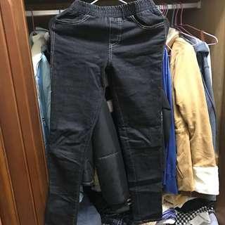 🚚 黑色韓版褲