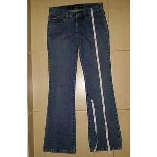 GaBlue Jean Boot Cut Low Waist #CNY888