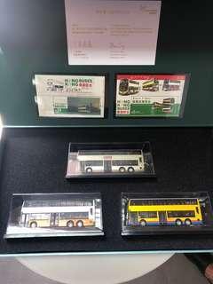 巴士模型限量版連郵票小型張