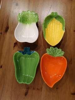 Vintage Vegetable side bowls