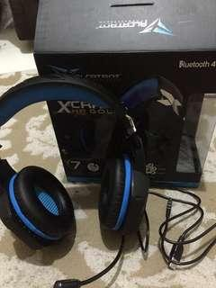 HEADSET BLUETOOTH GAMING ALCATROZ HP GOLD