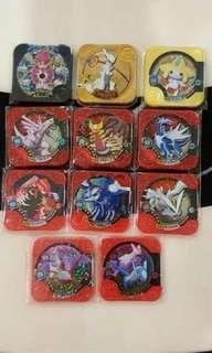 Pokemon Tretta U3 Full Set