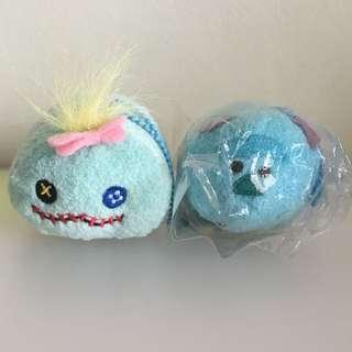 Tsum tsum Scrump and Sulley Monster Inc