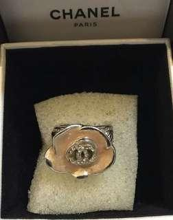 Authentic Chanel Camellia Ring