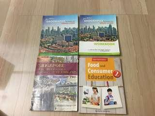 CHEAP TEXTBOOKS (geography, history, food studies)