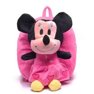 🚚 Kid Backpack - Minnie Mouse (Pink)