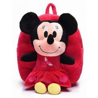 🚚 Kid Backpack - Minnie Mouse (red)