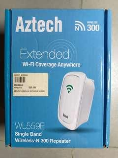 AZTECH Extended wireless WI-FI repeater