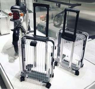 Transparent see-through luggage New Fashion suit case ❤️❤️❤️