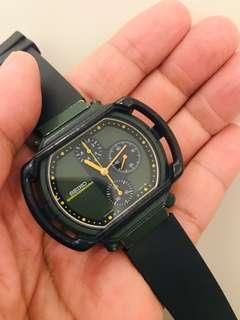 古董初代精工石英計時手錶7A28-500A