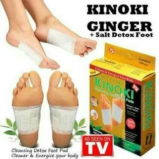 Herbal Penyerap Racun Kinoki Gold