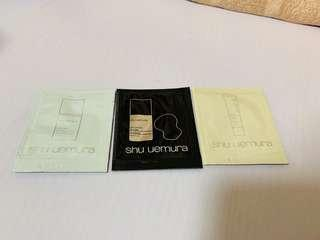 Shu uemura foundation sample 粉底試用裝