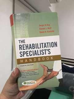 The Rehabilitation Specialists's Handbook 4th Ed - Roy, Wolf, Scalzitti
