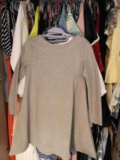 4f3b36e3c2 Pomelo's Patterson Layered Pencil Skirt, Women's Fashion, Clothes ...
