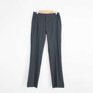 G2000 Women Pinstriped Dark Gray Pants Trousers