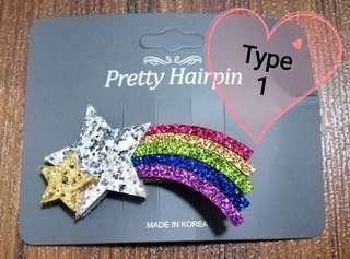 🚚 Rainbow Hairclip