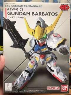 SD高達  SD Gundam Ex-standard 鐵血的孤兒 巴巴托斯 Barbatos