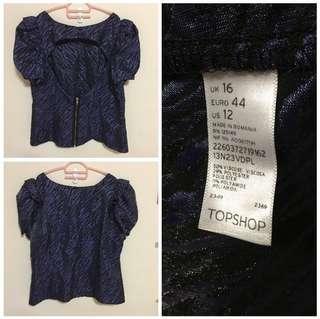 Brandnew Topshop blouse size UK16