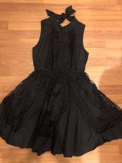 Little Black Lace Dress(New)