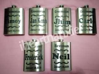 Personalized Stainless Flask - 8oz.