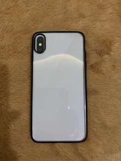 Iphone XS Max Clear Black Case