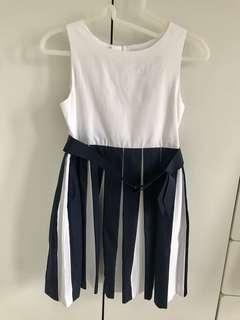 Jacadi 連身裙,合4.5-5.5歲,表演/面試用,大方得體!原價$1000