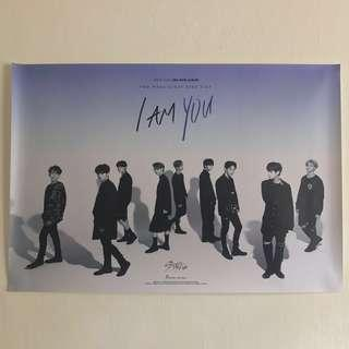 Official Stray Kids I am YOU Unfolded Poster