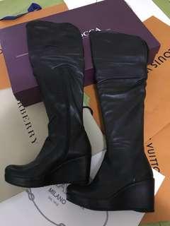 Boots lambskin (95%new)