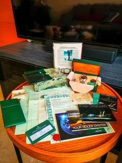 Rolex Oysterquartz 17000 Full collector Set