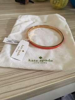 Kate Spade 桃紅色手環