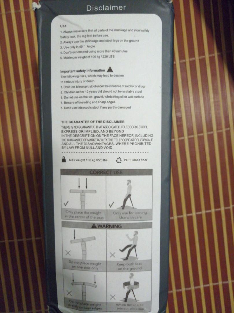 可攜式摺椅 行山用品 #newbieJan19