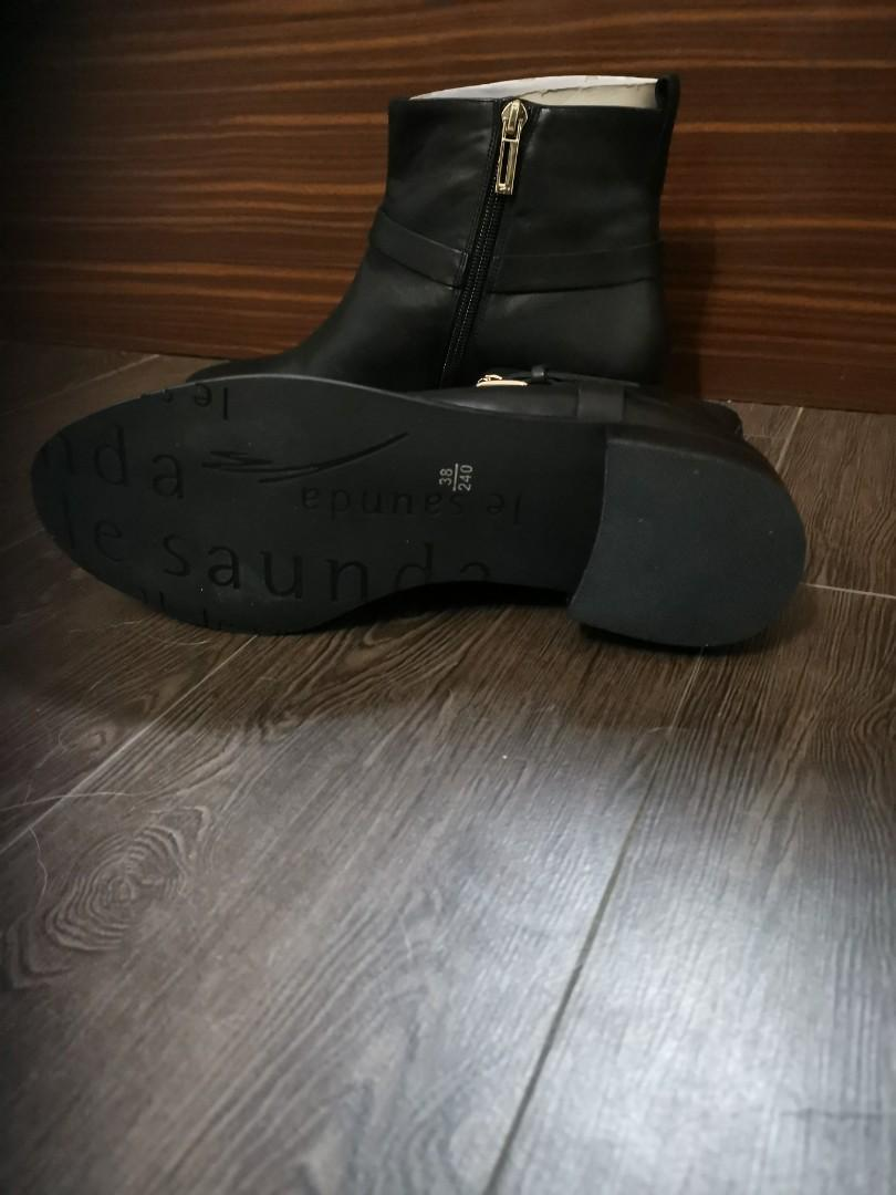 女裝短皮靴