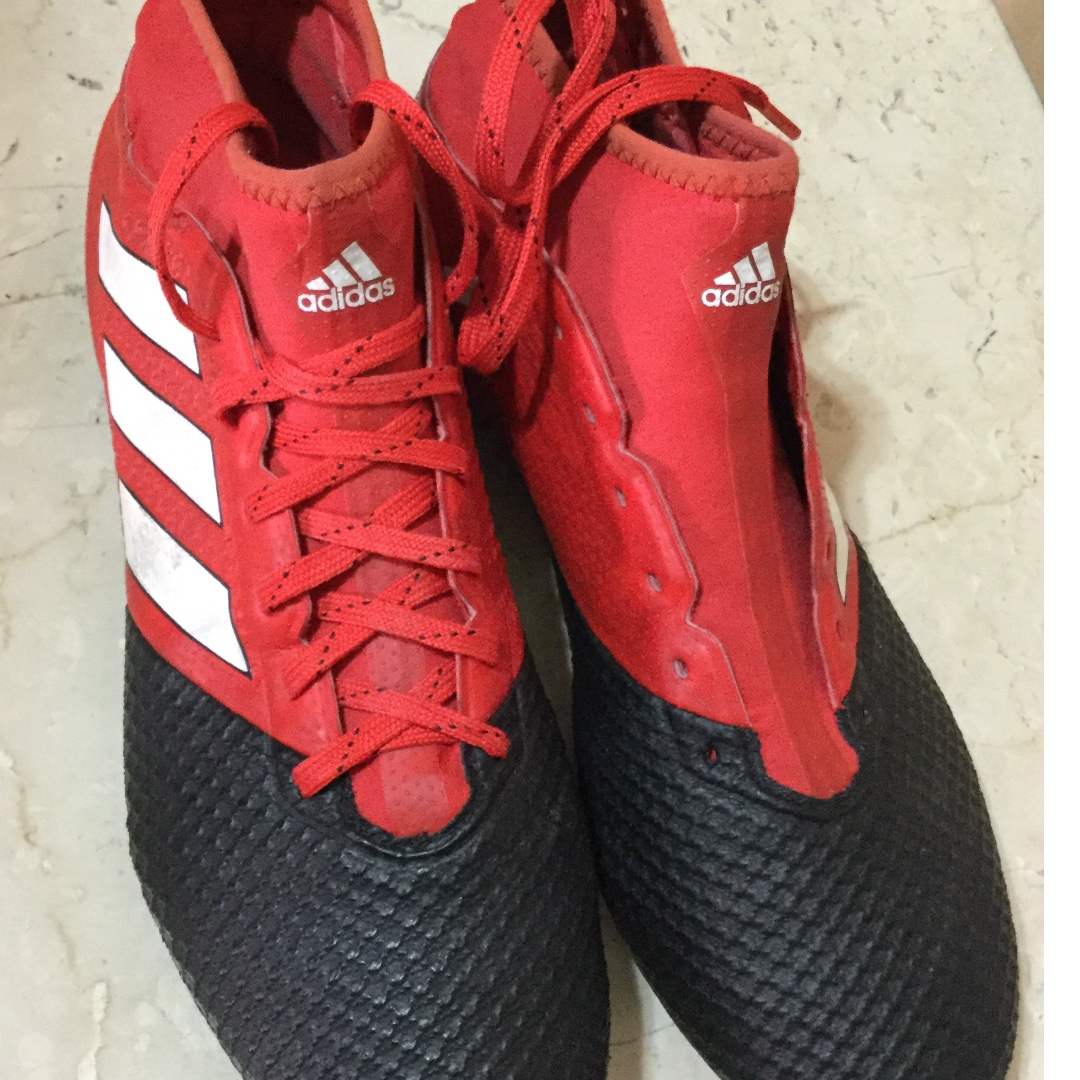 promo code a6217 1ceda Adidas Ace 17.3 red football boots Size UK 9 / US 9.5 ...