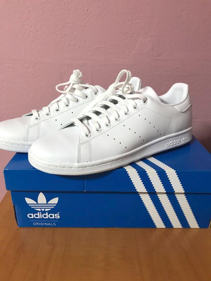 8aaf10b9a484f0 Adidas Stan Smith Triple White