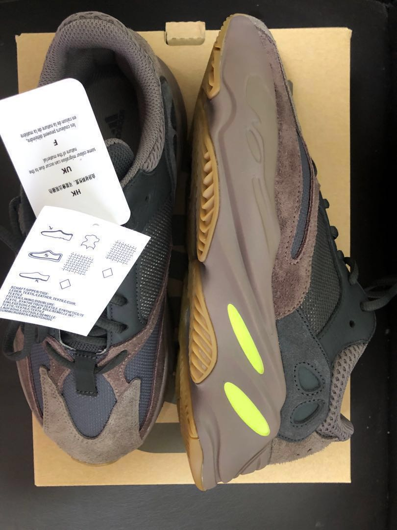 9d371338f9fc87 Adidas Yeezy 700 Mauve US9.5 US10