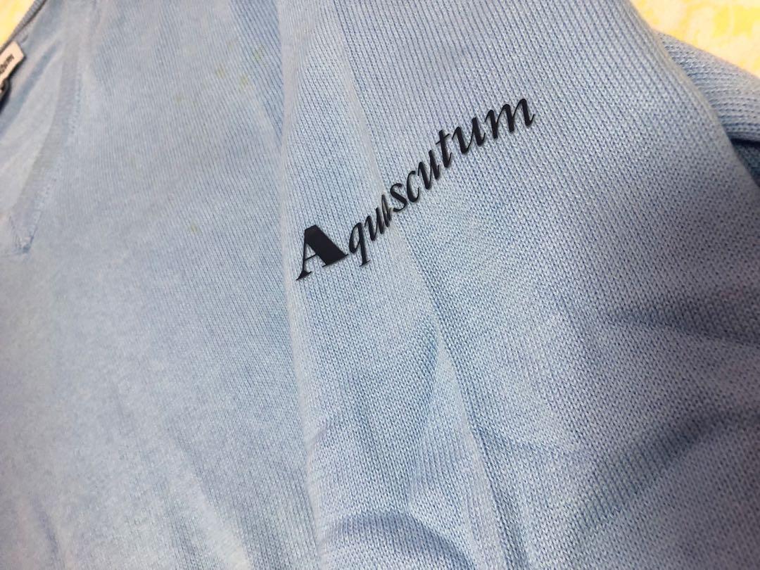 Aquascutum light blue Sweater
