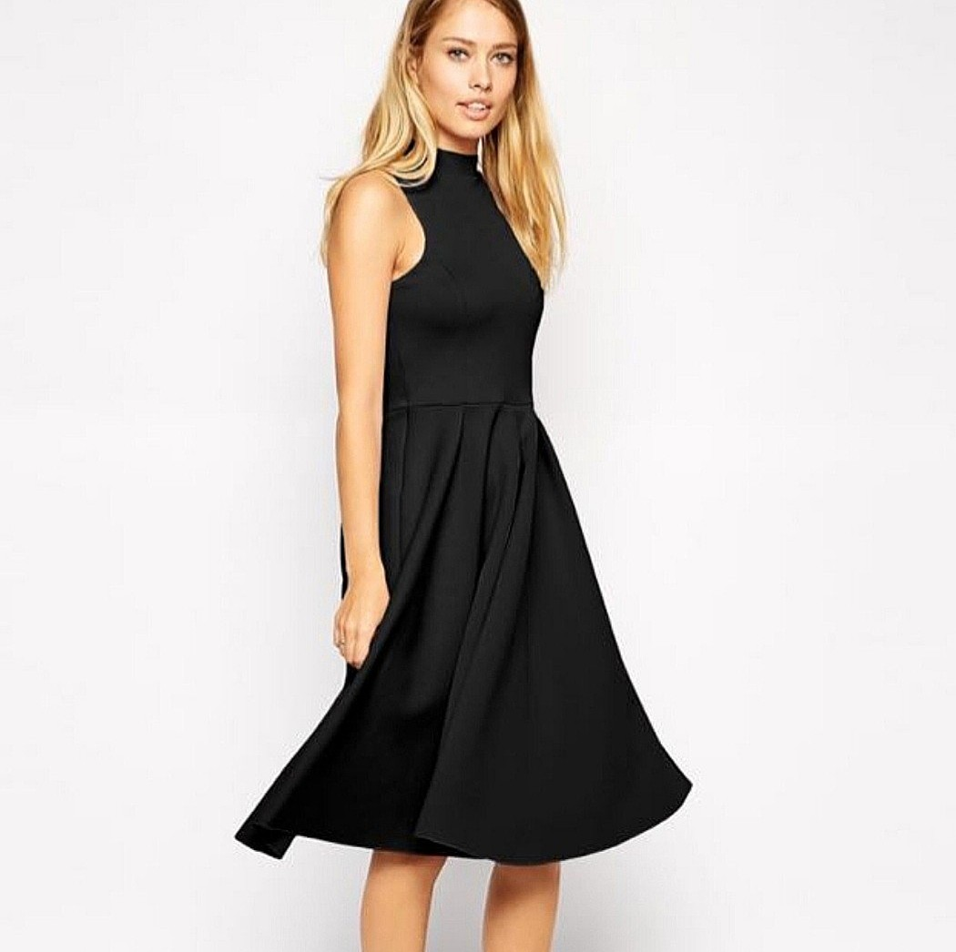 3a526f6093c Asos Scuba Dress (Black)
