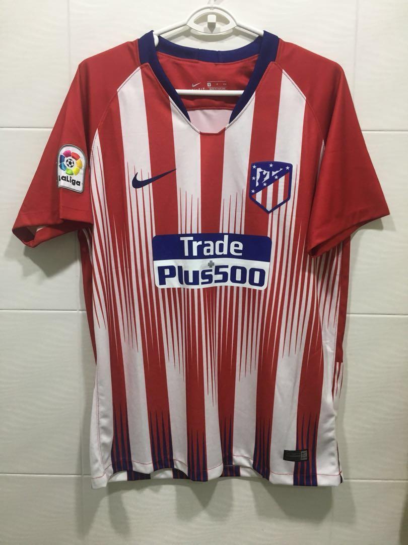 4f65f37b0 Atletico Madrid 18 19 home jersey