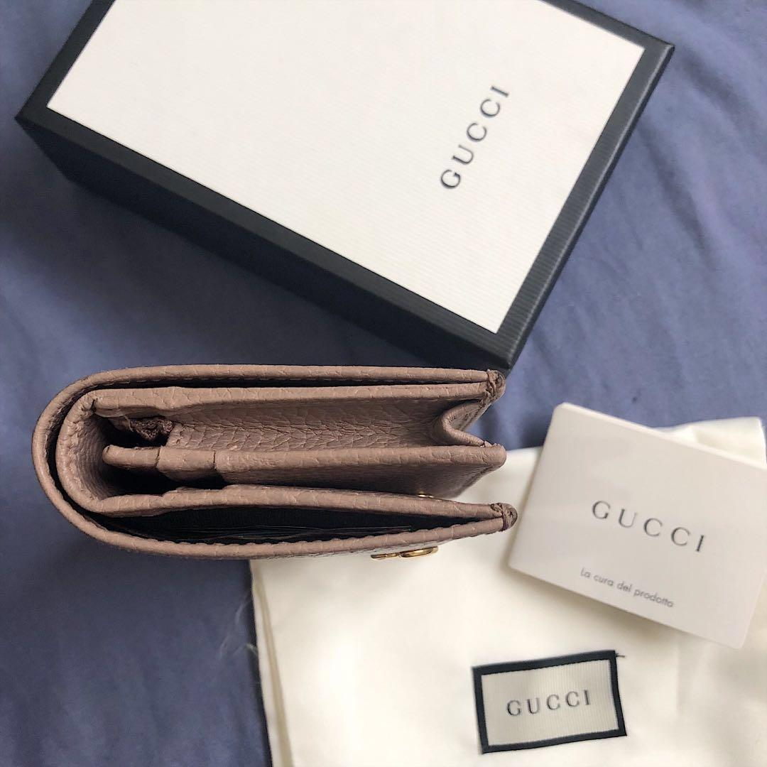 Authentic Gucci Leather Card Case