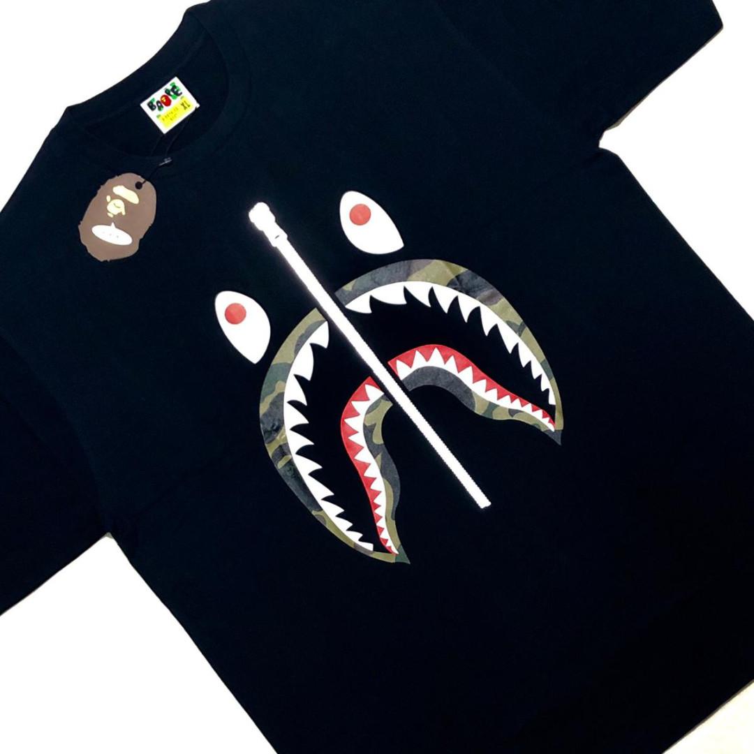 f612e5d6 Bape 1st Camo Shark Tee, Men's Fashion, Clothes, Tops on Carousell